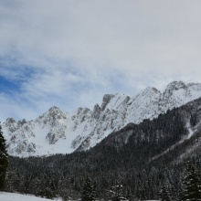 La valle di Scalve vista dai Campelli