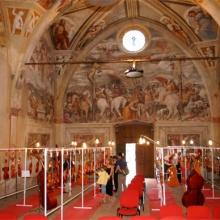 Chiesa affrescata dal Romanino a Pisogne