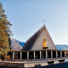Santuario: Madonna delle Nevi a Boario Terme eretto in onore agli Alpini