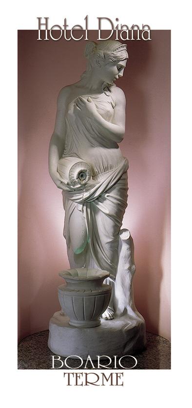 Copertina con statua