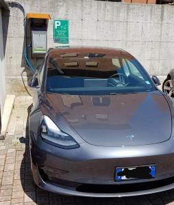 colonnina di ricarica auto elettriche